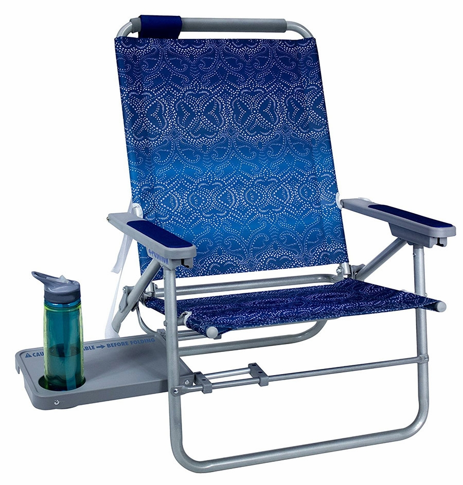 GCI Big Surf Beach Chair with Slide Table  TackleDirect