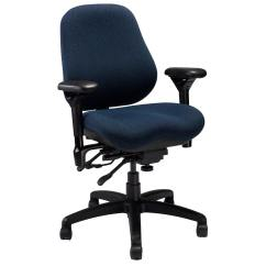 High Backed Chair Carex Shower Shop Bodybilt 2407 Back Petite Executive Chairs