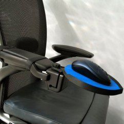 Ergonomic Chair Neck Support Tablet Arm Chairs Upholstered Dexterity Chair-mounted Mouse Platform | The Human Solution
