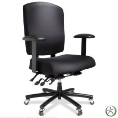 Back Support For Office Chairs Big W Quincy Swivel Chair Ergocentric Bariatric Task | Shop