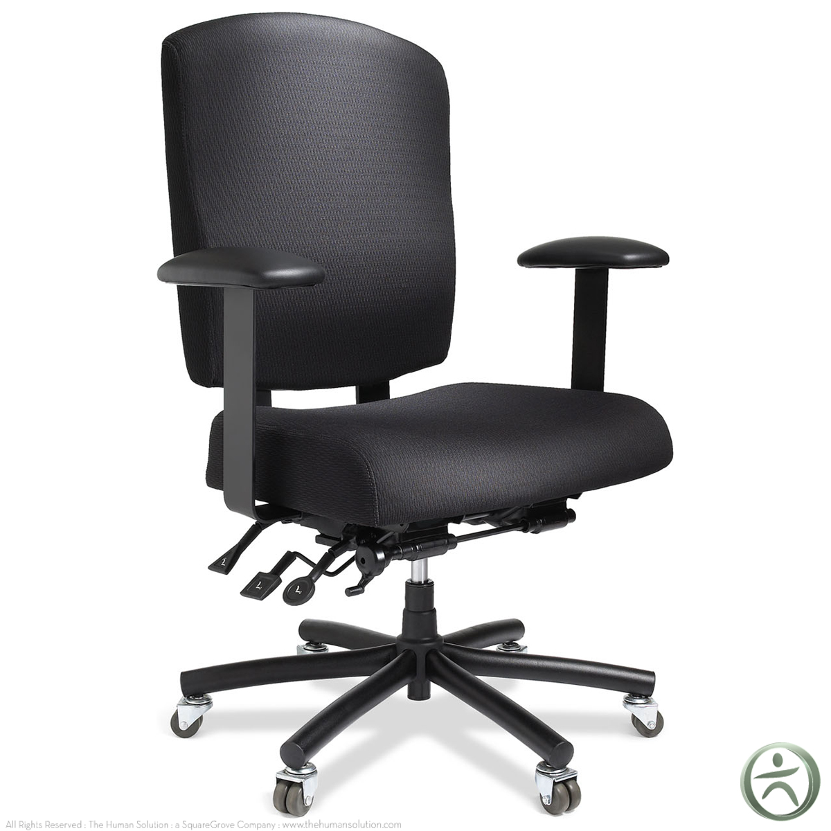 Bariatric Office Chairs Ergocentric Bariatric Task Chair Shop Ergocentric Chairs