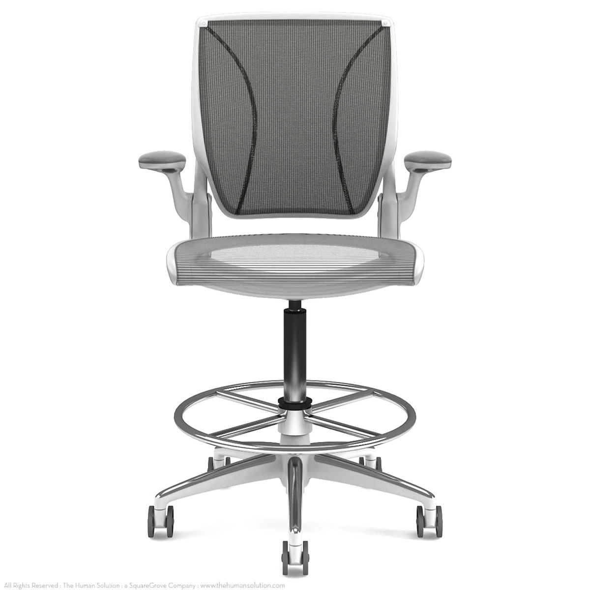 Humanscale Diffrient World Chair Shop Humanscale Diffrient World Drafting Chairs
