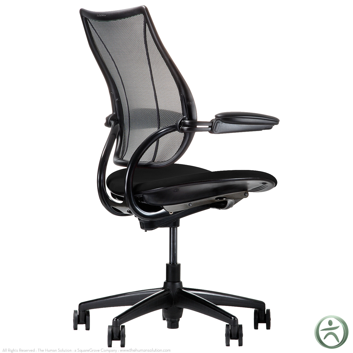 humanscale liberty chair review double glider same day ship