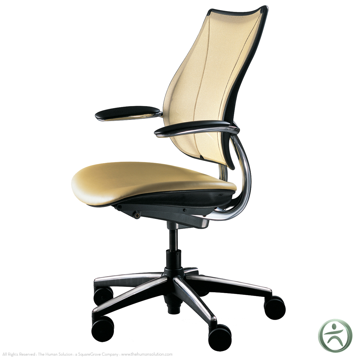 Human Scale Chair Shop Humanscale Liberty Chairs With Leather Seat