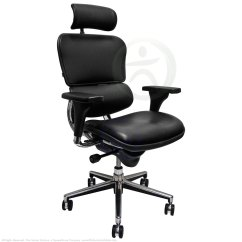 Raynor Ergohuman Chair Christmas Covers White Shop Chairs Leather With Headrest Le9erg