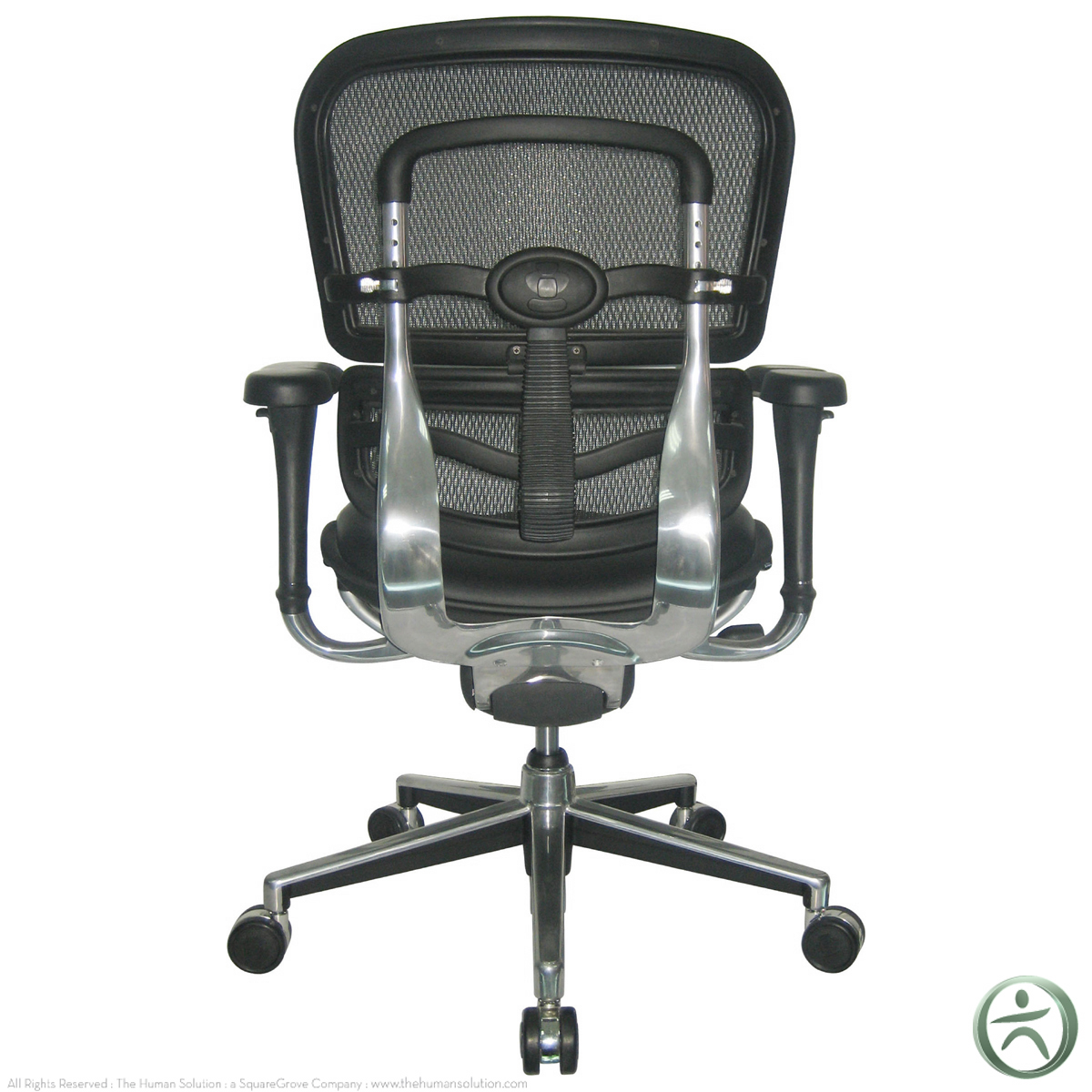 raynor ergohuman chair christmas covers costco mesh with leather seat