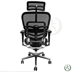 Raynor Ergohuman Chair Graco High Duodiner Cover Me7erg Mesh With Headrest Open