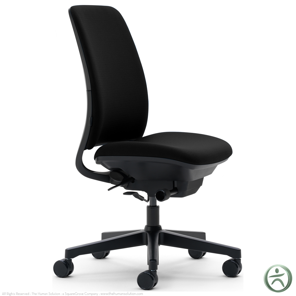 steelcase amia chair posturepedic office base model no arms