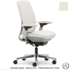 Steelcase Amia Chair Covers With Attached Sash In Leather