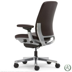 Steelcase Amia Chair Home Depot Rail In Leather