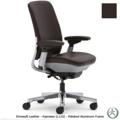 Steelcase Amia Chair Clear Plastic Dining Chairs Nz In Leather