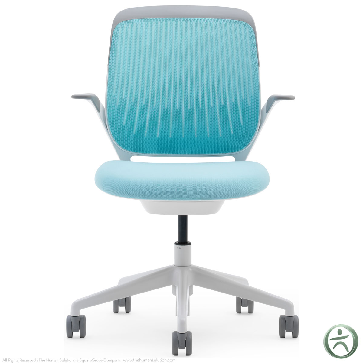 aqua desk chair phil and ted high review steelcase cobi