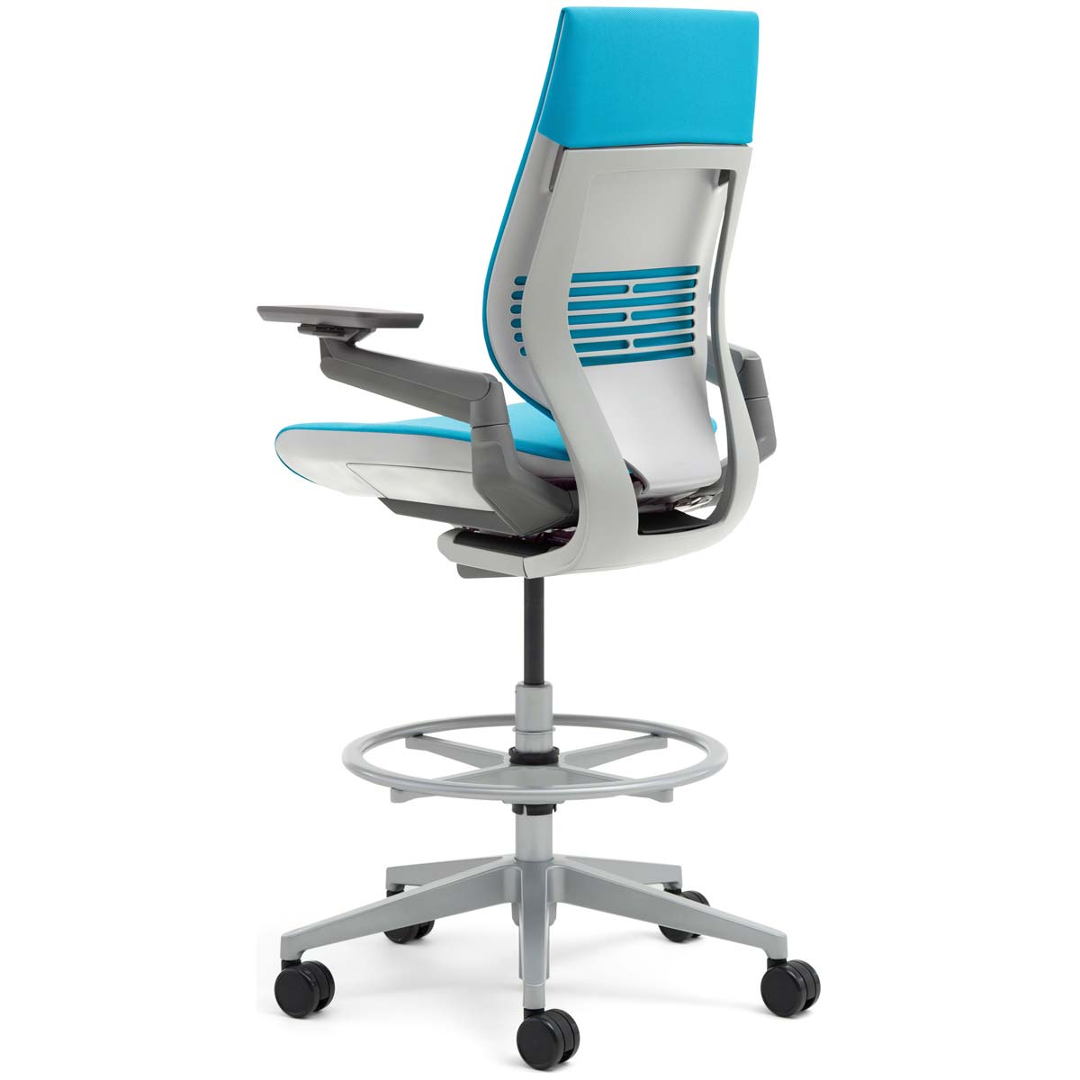 steelcase gesture chair review comfy white shop drafting stools
