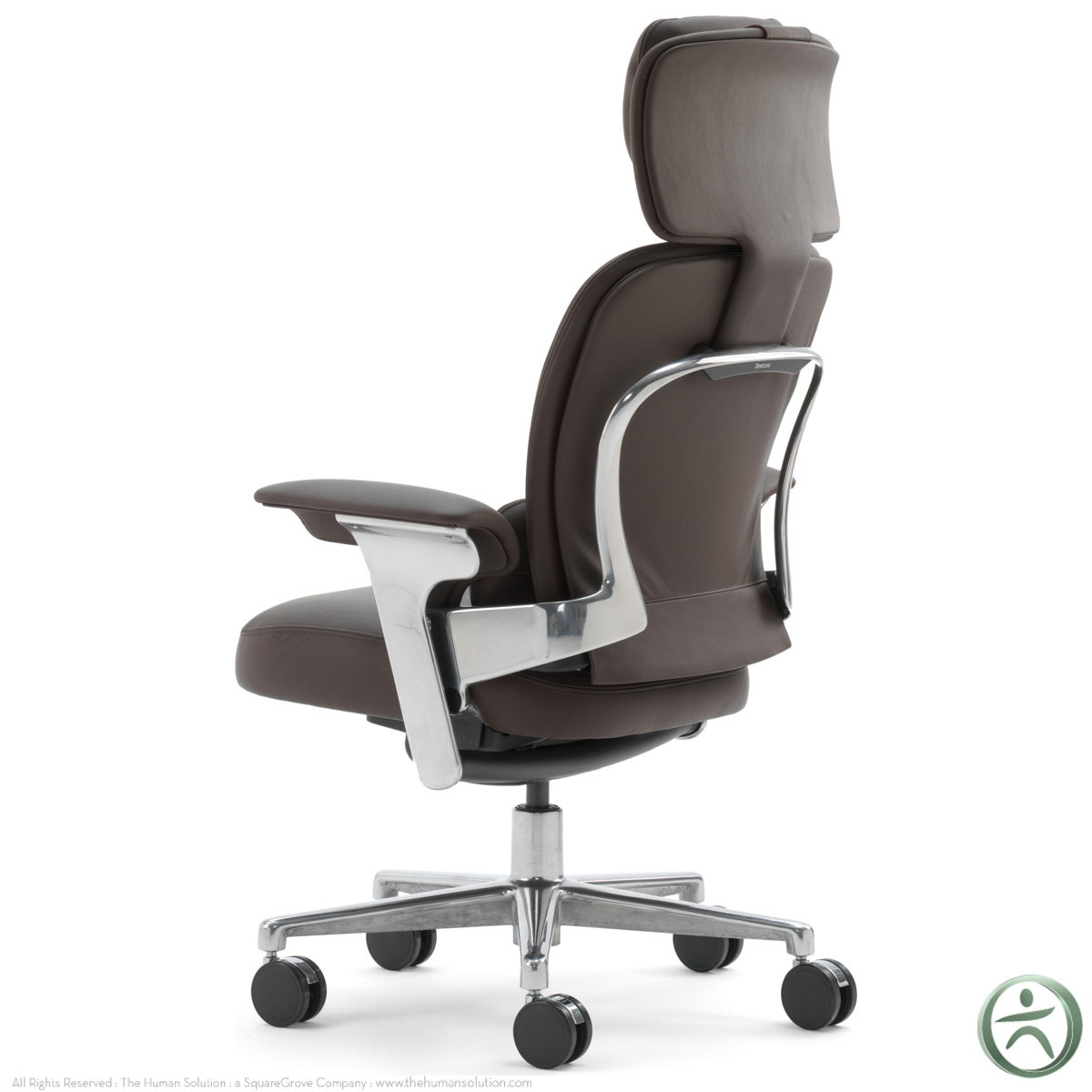 steelcase leap chair polka dot worklounge in leather
