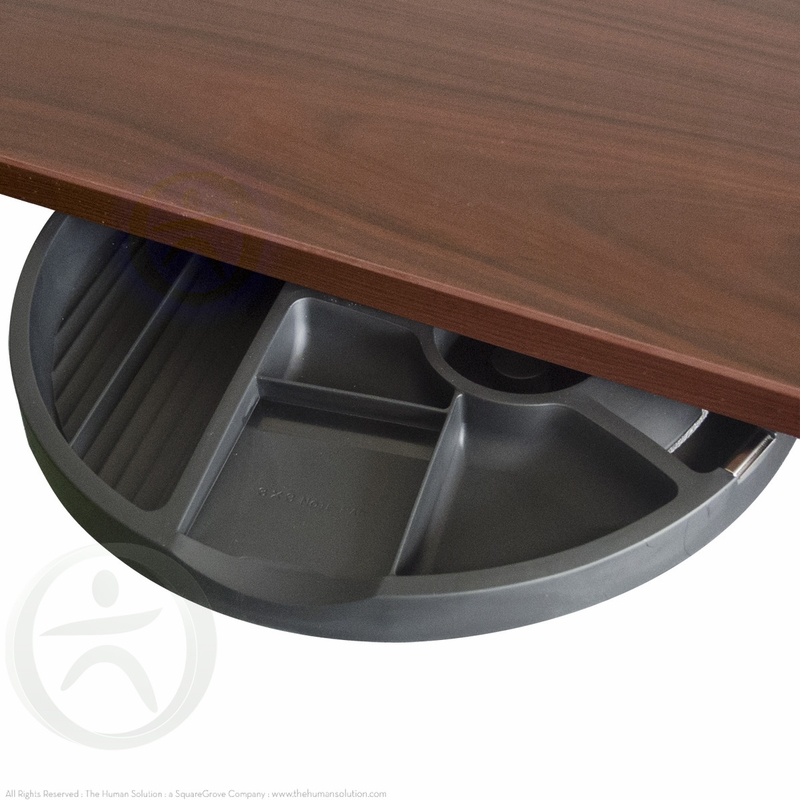 UpLift Half Circle Desk Drawer  Shop UpLift Desk Accessories