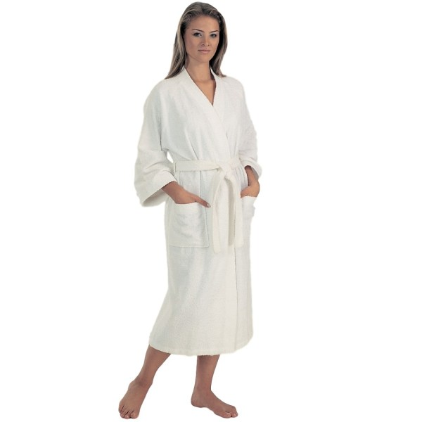 Women' Lightweight Terry Cloth Bathrobe