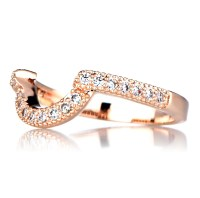 Rose Gold Ring: Rose Gold Ring Guard