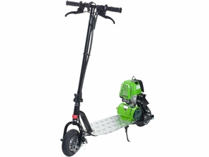 Go Green Propane Gas Powered Scooter 4 Cycle 25cc