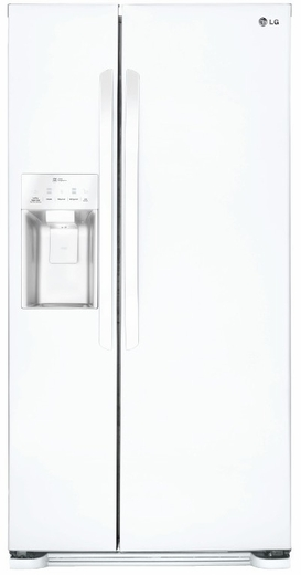 LSXS22423W LG 22 cu. ft. Side-by-Side Refrigerator with