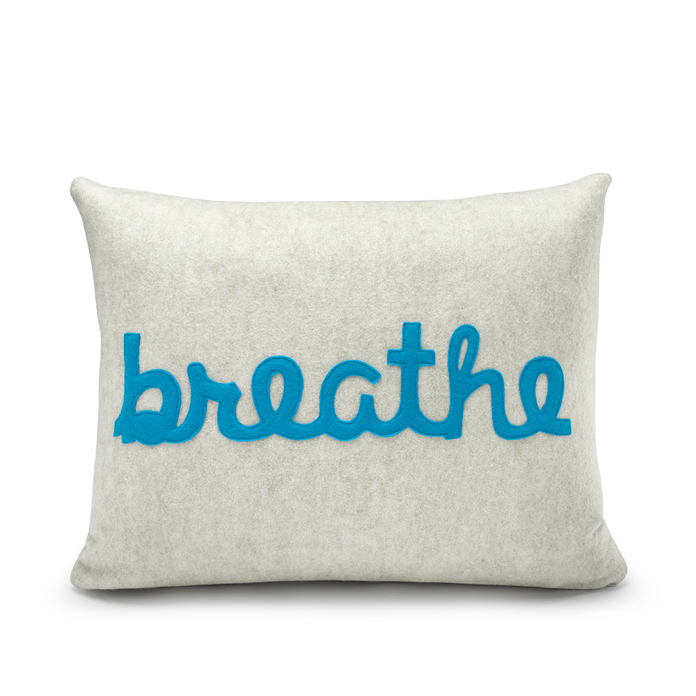 Alexandra Ferguson BREATHE Pillow  Creative gifts for all