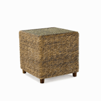 Seagrass End Table - Tangiers   Wicker Paradise