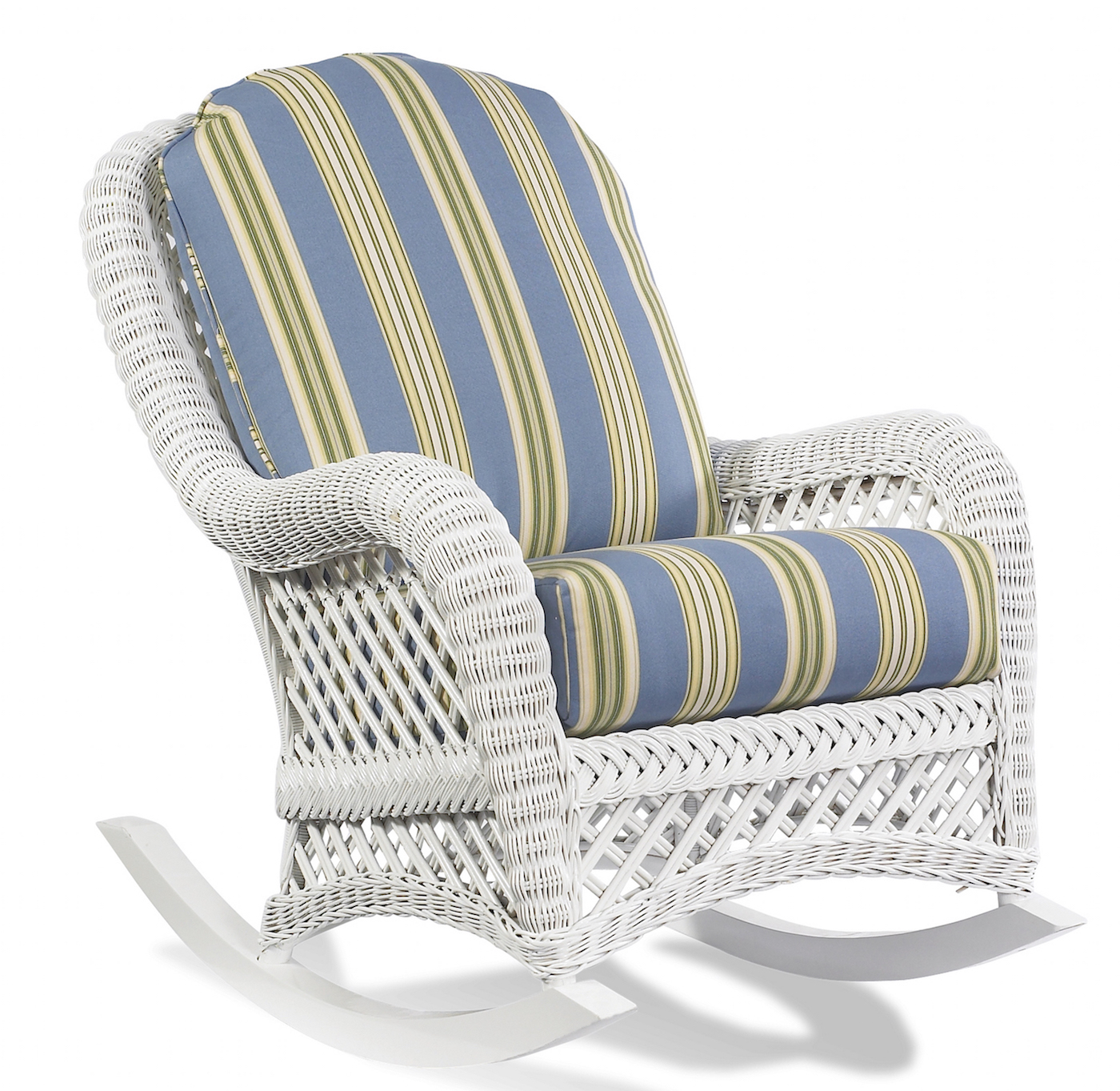 White Wicker Rocking Chair White Wicker Rocker Lanai Wicker Paradise