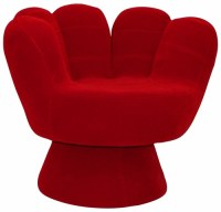 Buy Mitt Chair Red by LumiSource at wildorchidquilts.net