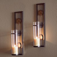 Buy Danya B Set of Two Contemporary Metal Wall Sconces ...