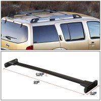 2005-2012 Nissan Pathfinder Aluminum Black Roof Rack Crossbar