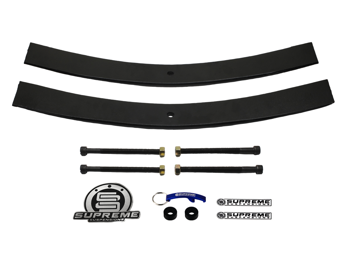 Supreme Suspension 2 Rear Add A Leaf Springs For