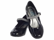Black Girls Dress Shoes with Heels