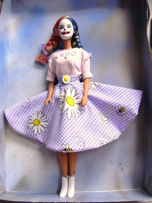 Ibdc Circus Clown Barbie Doll #8 Of 50 Limited Edition