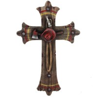 Fireman Decorative Wall Cross
