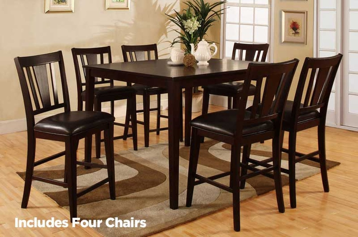 Pub Tables And Chairs Bridgette Cm3325pt 5p Pub Table Set By Import Direct In