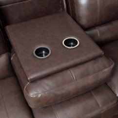 Brown Leather Sofa Recliner Replacement Legs Feet Coaster 600021sp Power Reclining