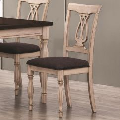 White Wooden Dining Chairs Babies R Us High Canada Coaster Camille 103582 Wood Chair In Los