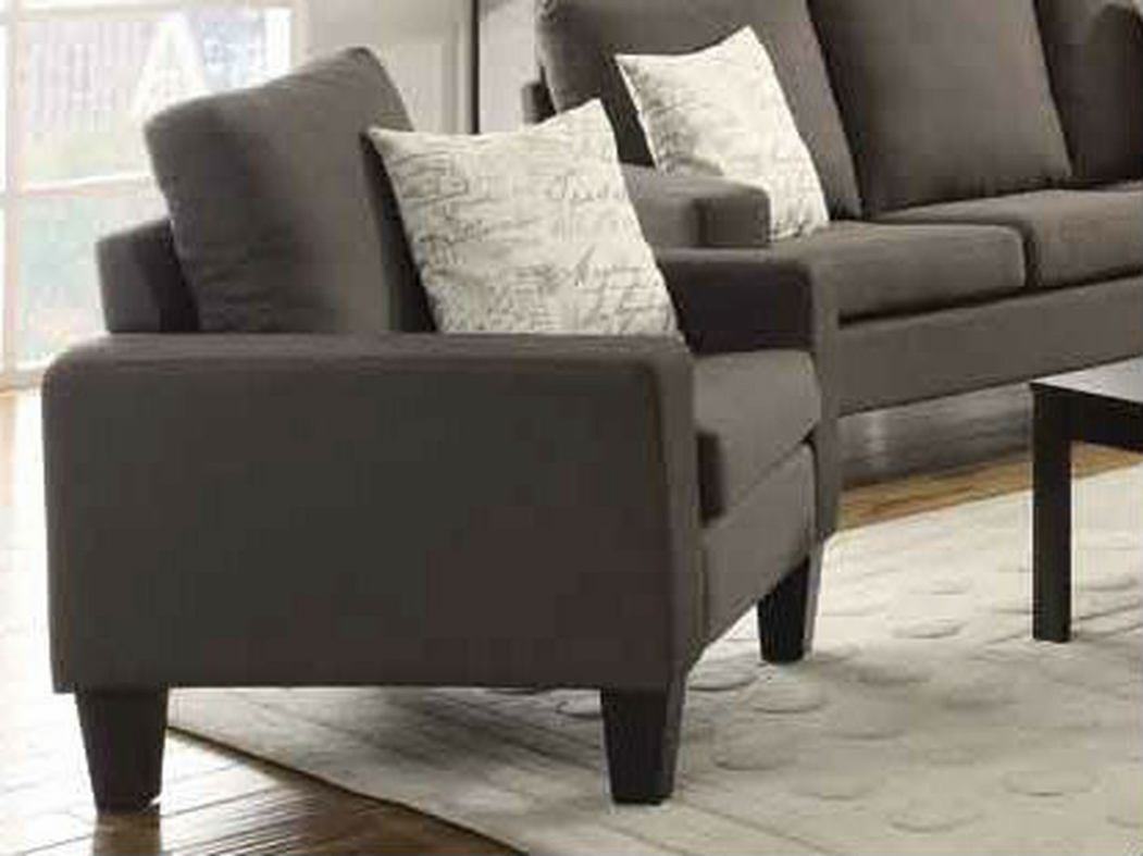 coaster bachman sofa reviews with 504766 grey fabric chair steal a