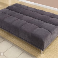Twin Bed Sofa Couch Aqua Throws Poundex F7010 Grey Size Fabric Steal A