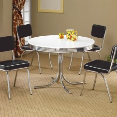 Silver Metal Dining Chairs Upholstered Desk Chair Coaster 2388 Table Steal A Sofa