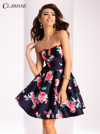 Clarisse Short Prom Dress 3028 | Promgirl.net