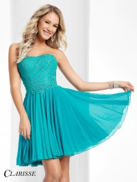 Clarisse Short Formal Dress 3213 | Promgirl.net