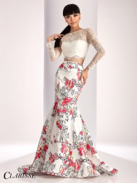 Clarisse Two Piece Prom Dress 3001 | Promgirl.net