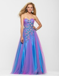 Clarisse 2013 Cotton Candy Blue Pink Strapless Sweetheart ...