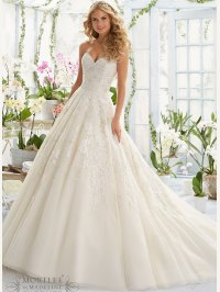 Mori Lee 2808 Sweetheart Ball Gown Bridal Dress ...