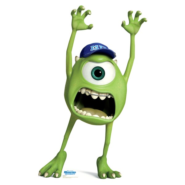 20 Mike Wazowski Colored Pencil Drawings Pictures And Ideas On