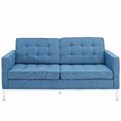 Sofa Florence Knoll Replica Protectors Australia Two Seat Loft Sofa, Sectional Couch, Wool ...