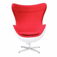 Arne Jacobsen Egg Chair, Fiber Glass Shell