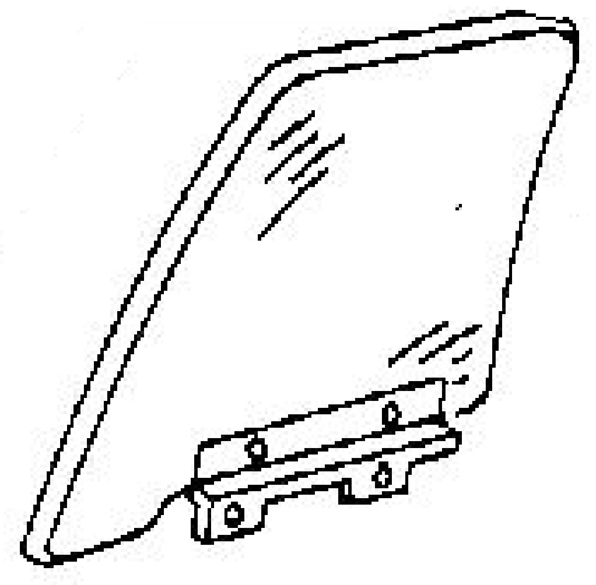 Service manual [1997 Buick Lesabre Driver Door Panel