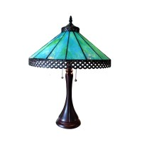 Chloe Mila Turquoise Table Lamp