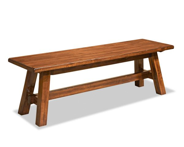 Timberline Backless Wood Bench